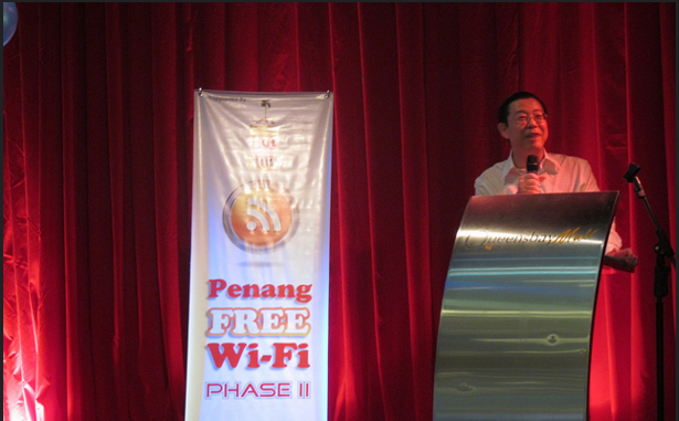 Penang launches 3Mbps free WiFi service