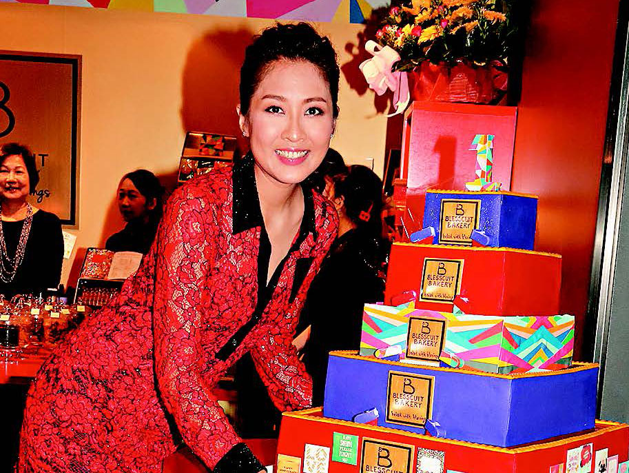 Sharon Chan launches another Blesscuit branch