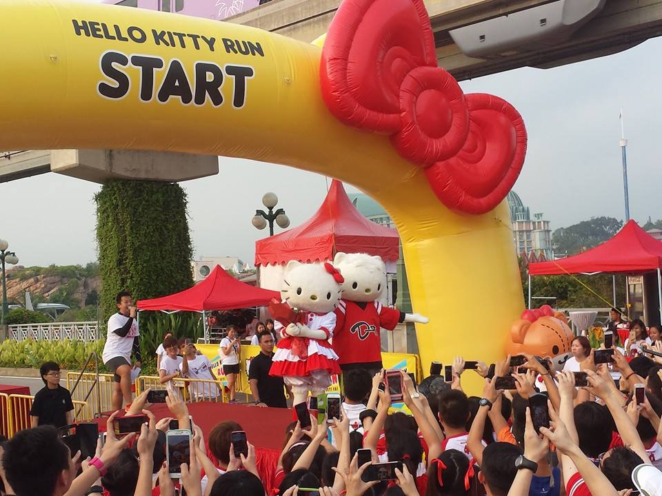 Hello Kitty Run returns to Singapore with a new concept