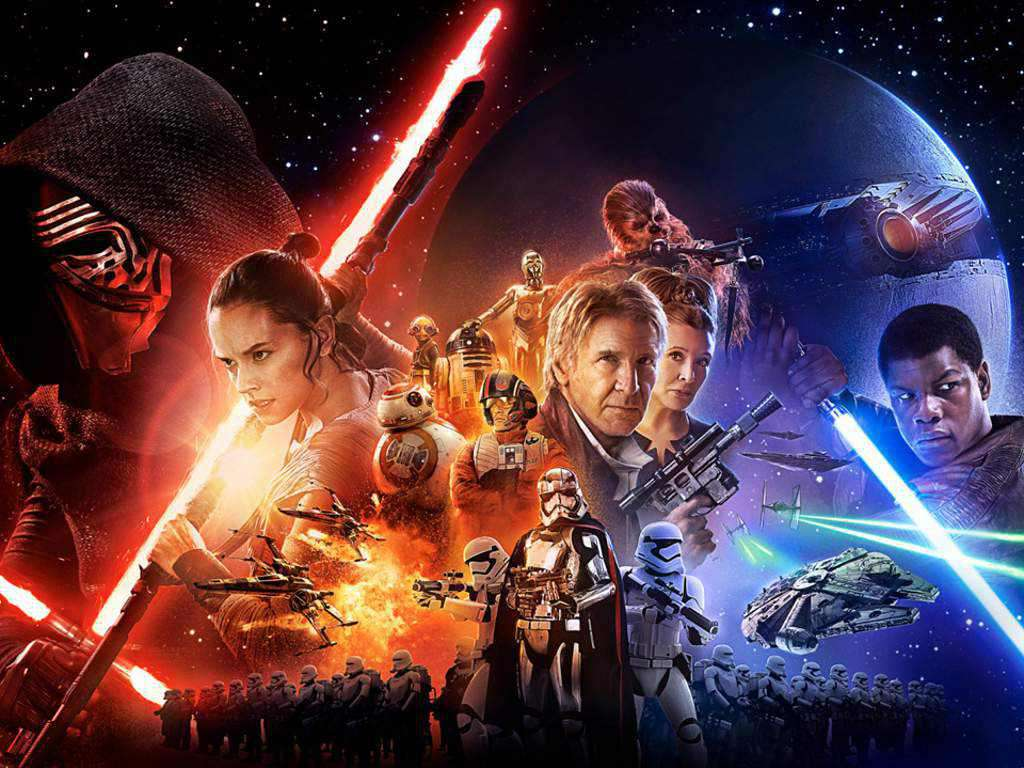 """Characters awaken in new """"Star Wars"""" posters"""