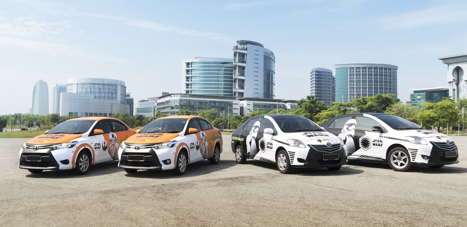 """GrabCar launches regional """"Star Wars"""" themed vehicles"""