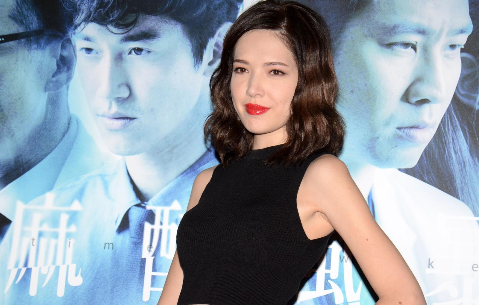 Tiffany Hsu laughs off rumours about her love life
