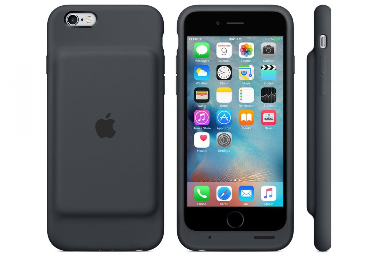 Apple finally introduces battery case for iPhone 6 and 6s