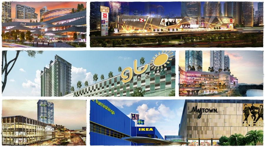 6 more shopping malls coming to Klang Valley in 2016
