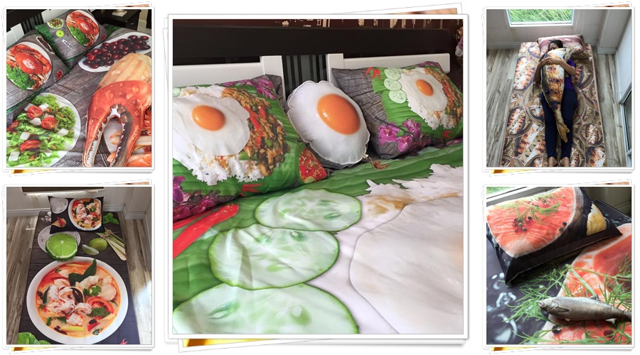 Can you sleep on these mouth-watering bed sheets?