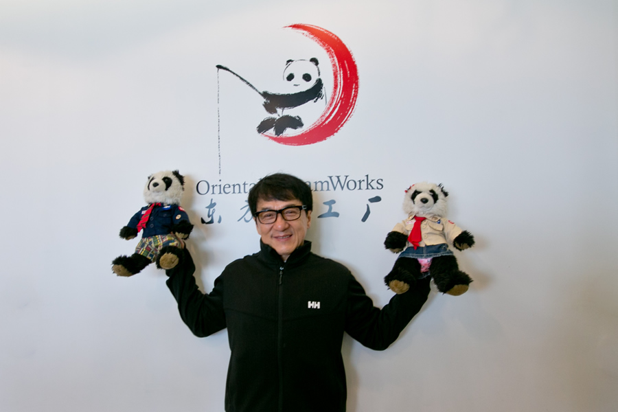 """Jackie Chan feels challenged by """"Kung Fu Panda 3"""""""