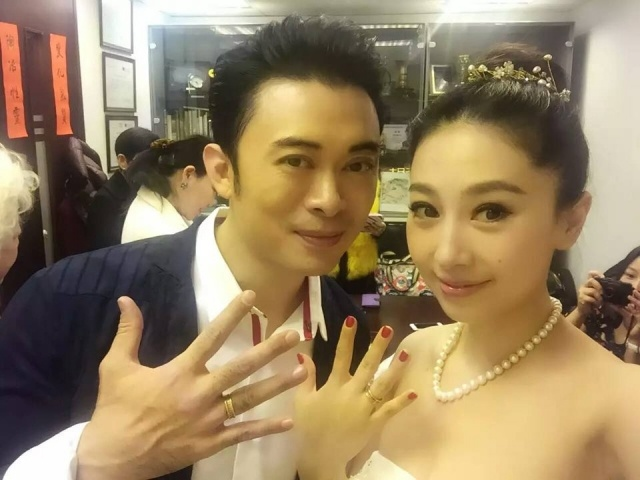 JJ Jia and Louis Fan hold wedding on New Year's Day
