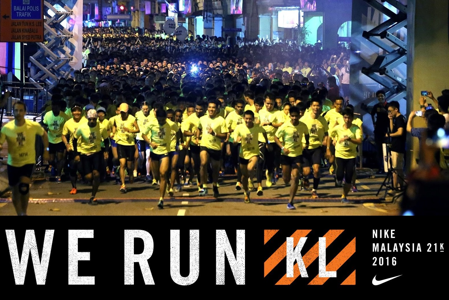 Bring out you inner athlete with Nike We Run KL 2016