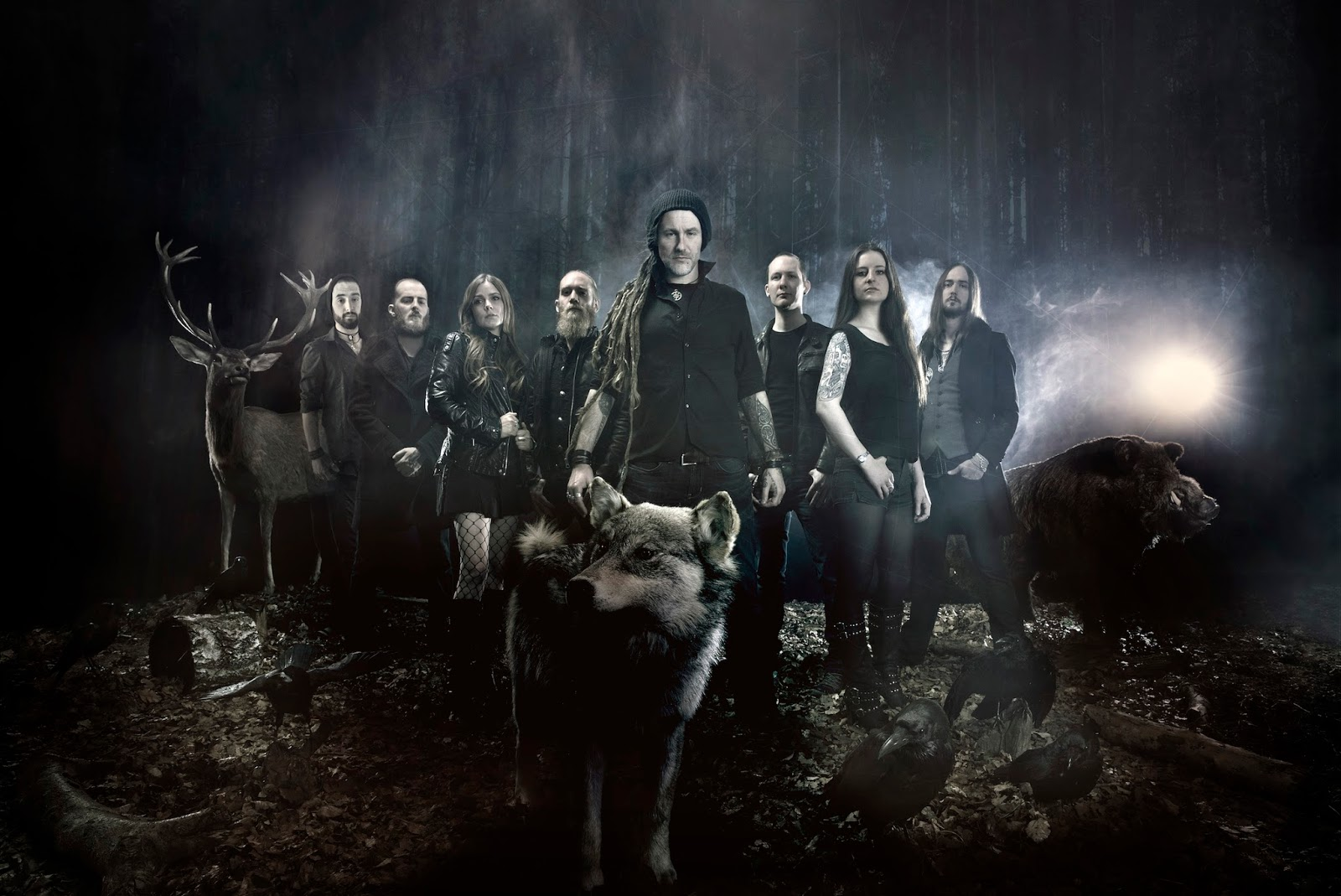 Metal band Eluveitie are coming to Singapore this May!