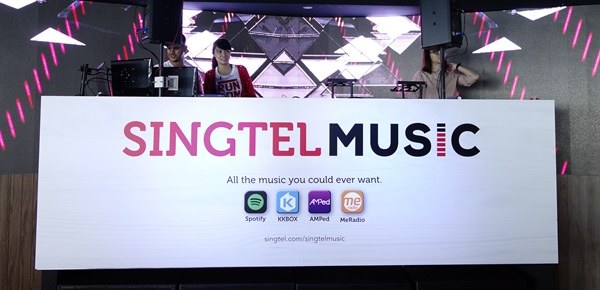 Singtel introduces first-of-its-kind, data free music streaming service