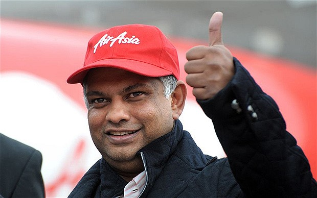 Tony Fernandes receives 4th Pillar Award, second after President Obama
