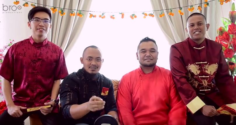 What an amazing medley of CNY songs by this Malaysian A Capella group