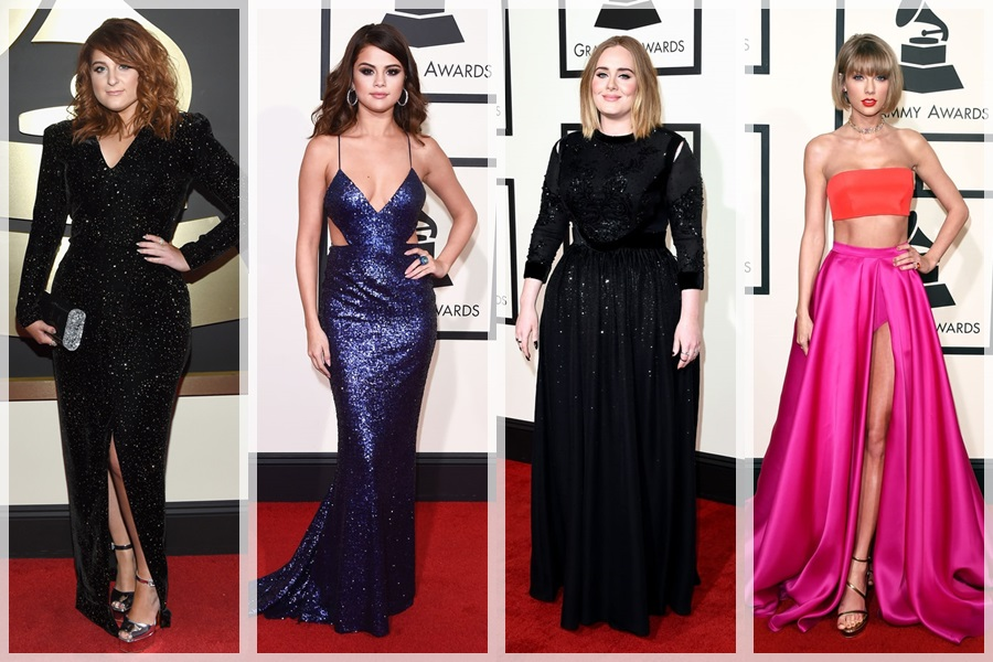 Look at what the stars are wearing at Grammys 2016