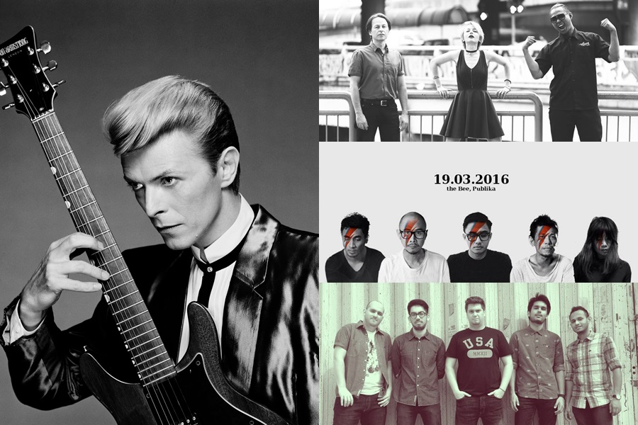 The Bee to honour David Bowie with performances from local bands