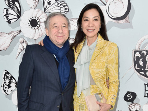 Michelle Yeoh gushes about fiancé