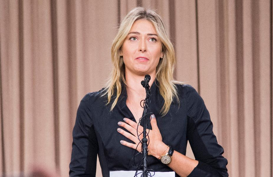 Tennis star Maria Sharapova fails a drug test, could be banned from playing
