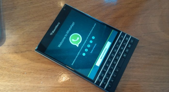WhatsApp ceases support for Blackberry and old smartphone models