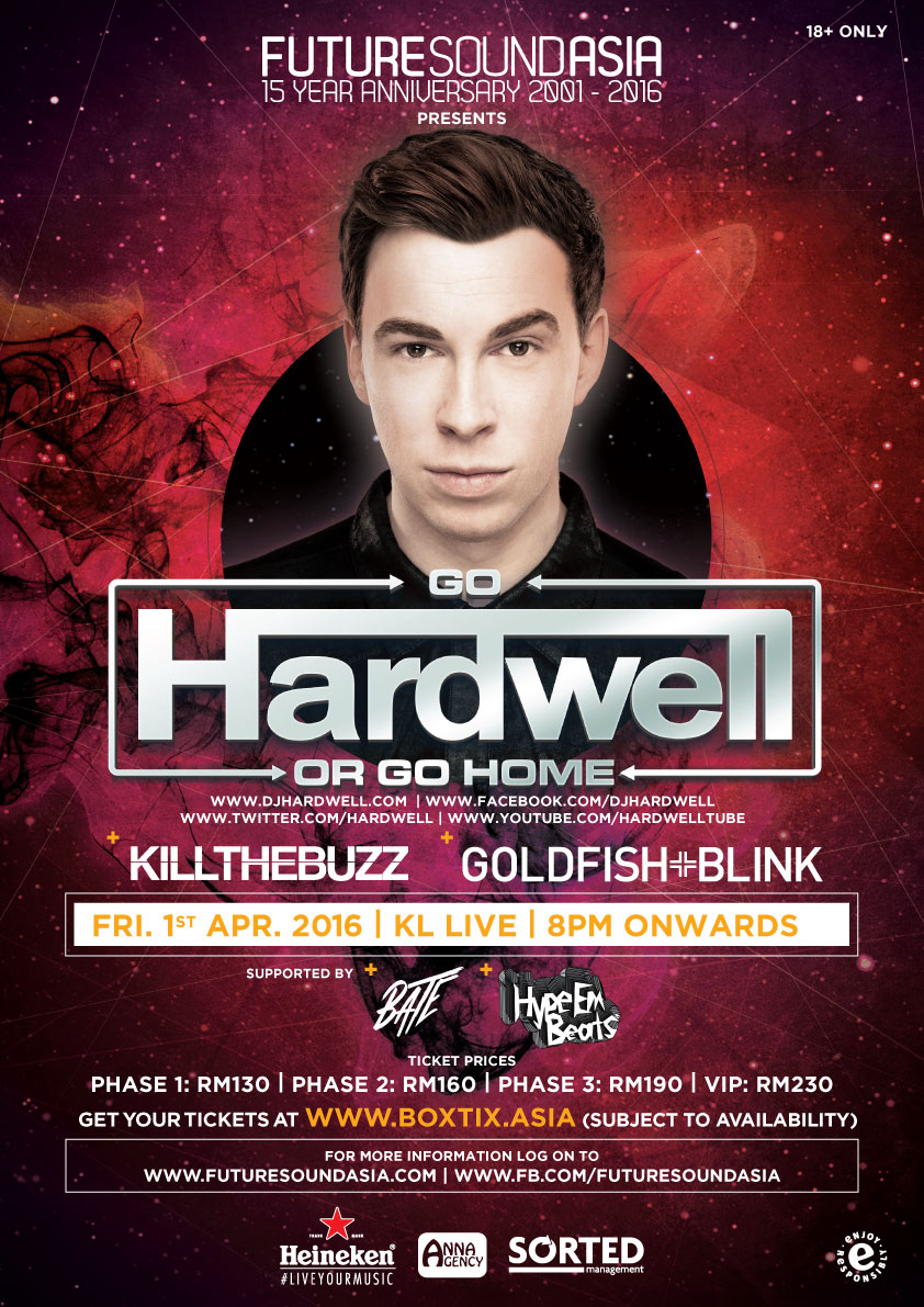 Future Sound Asia celebrates 15 years with Hardwell!