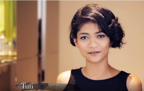 AsNTM only Malay contestant Tuti responds to netizens comment
