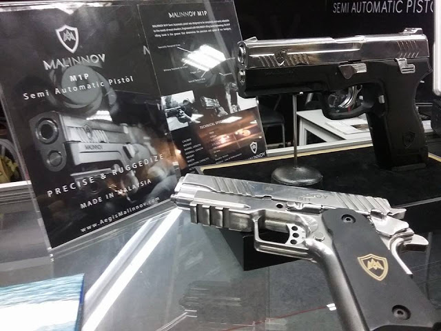 Check out the first ever Malaysian-made pistol!