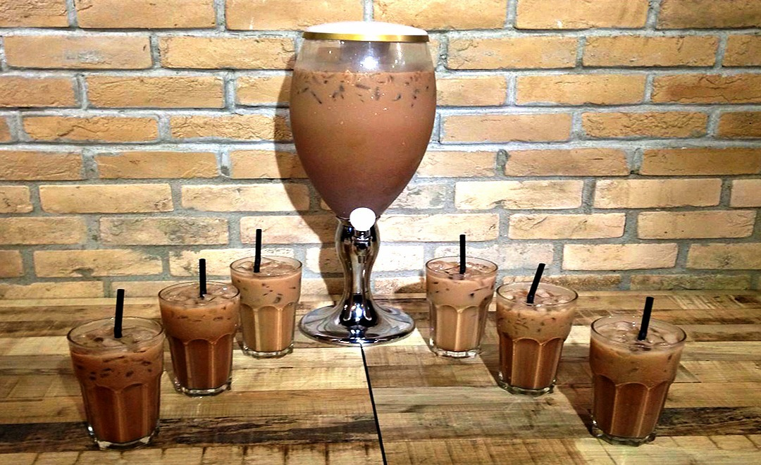 Milo Tower, a new way to drink your iced Milo