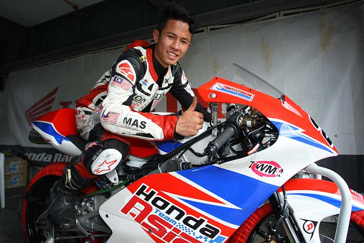 Khairul Idham Pawi will compete in the Spanish Championship and Cub Prix simultaneously for the 2015 season