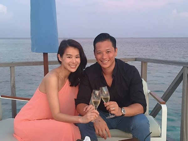 Myolie Wu's long honeymoon to make up for lost time
