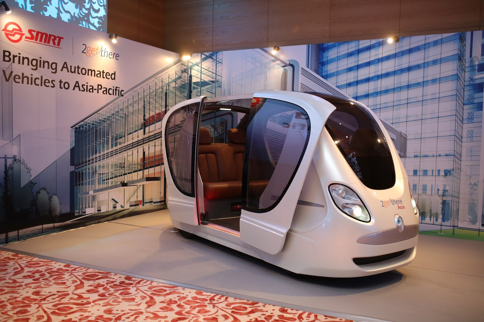 Driverless vehicle will be available in Singapore by end of 2016