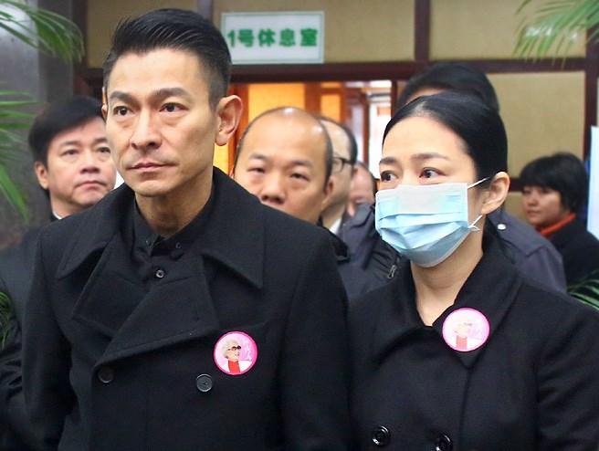 Andy Lau does not confirm baby rumours
