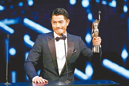 Aaron Kwok says he is not hinting at Stanley Tong in speech