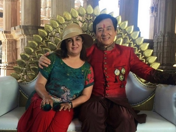 """Jackie Chan wants to dance again for """"Kung Fu Yoga"""""""