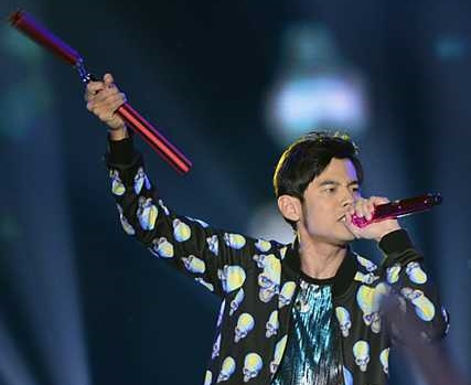 Jay Chou accused of hurting his fan with a dance prop