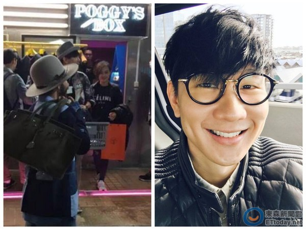 """JJ Lin spotted in Japan with """"Kaohsiung beauty"""""""