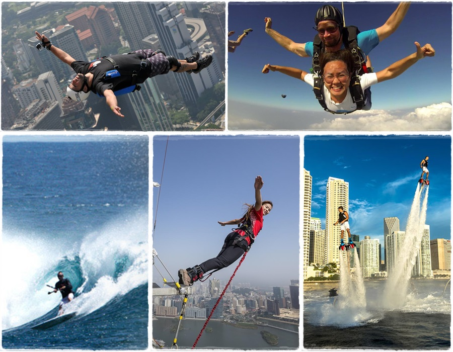 These extreme sports are really extremely expensive!
