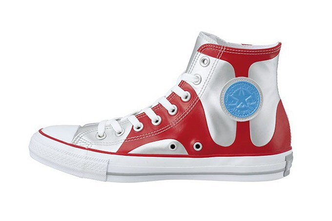 Converse releases Ultraman sneakers to celebrate its 50th anniversary