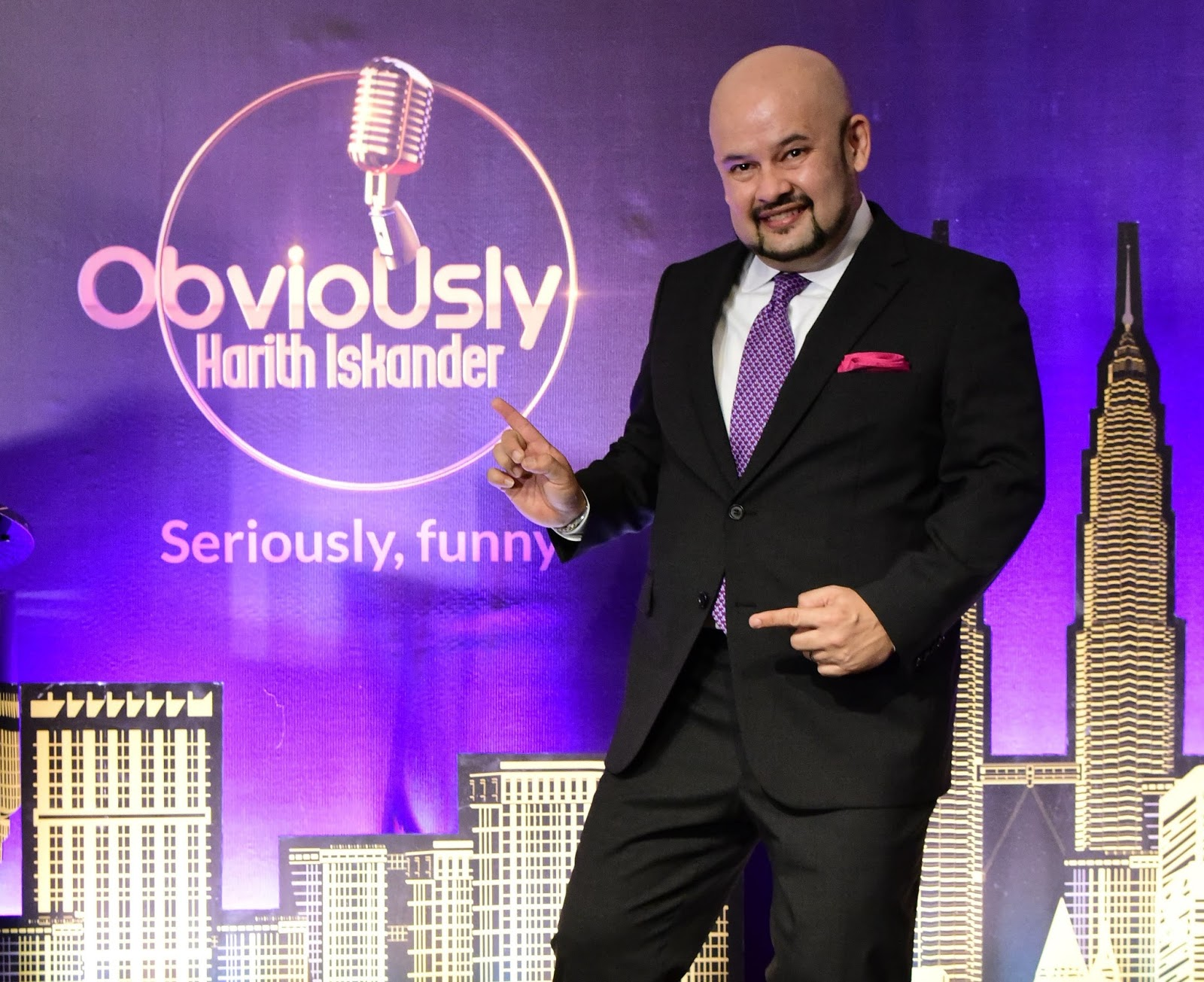 Harith Iskander to host Malaysia's first late-night talk show