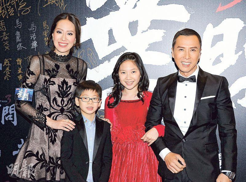 Donnie Yen has no time for his children