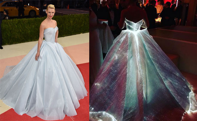 Claire Danes is the real-life Cinderella at the 2016 Met Gala