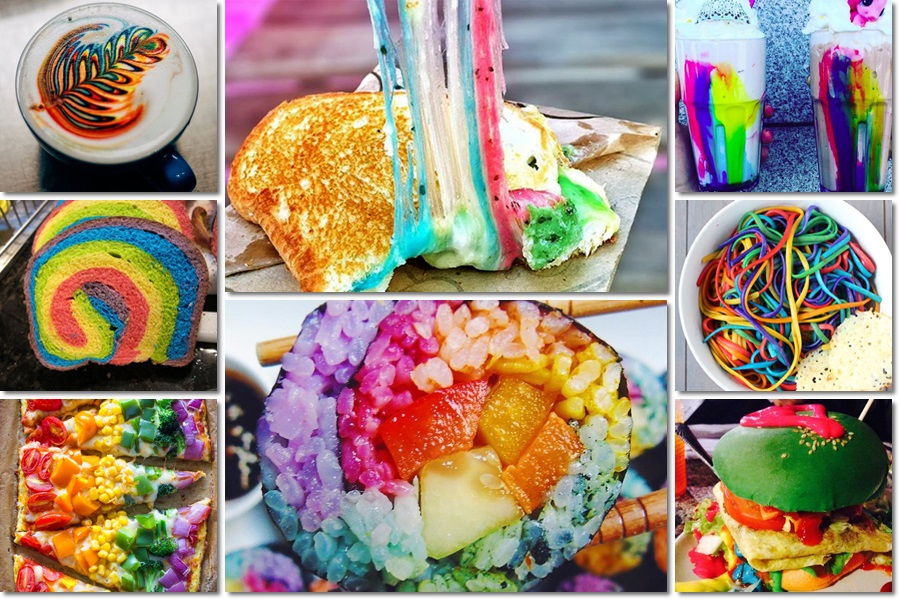 15 rainbow-coloured food that will make you go crazy