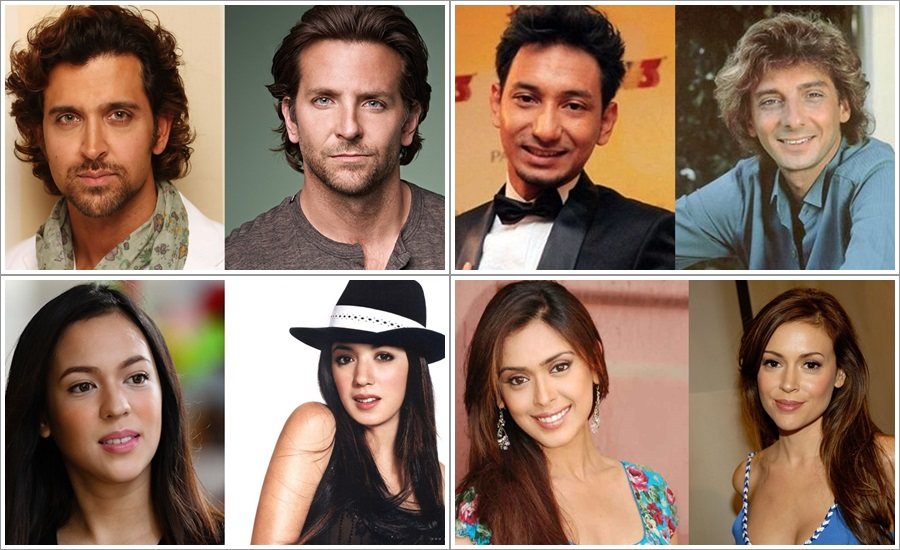 10 Asian celebrities and their Hollywood doppelgangers