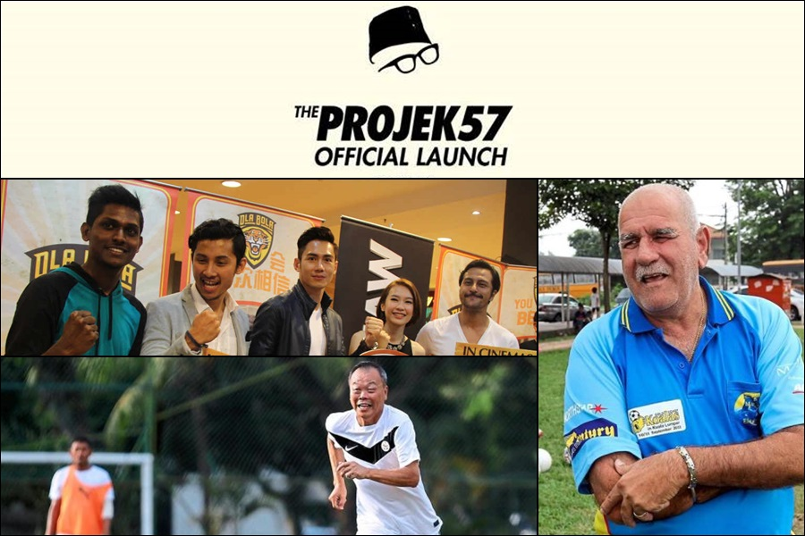 """Projek57 will launch with sports legends and """"Ola Bola"""" stars"""