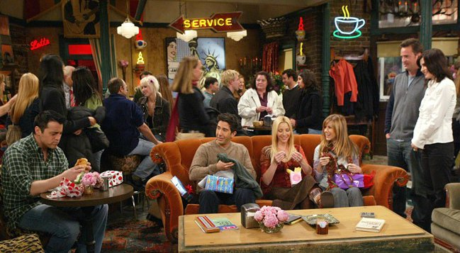 Central Perk couch