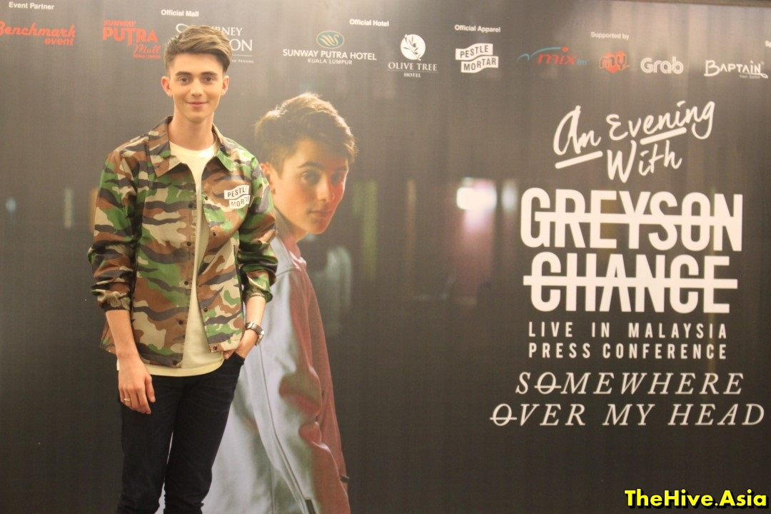 "Greyson Chance is looking for a second ""chance"" at music"