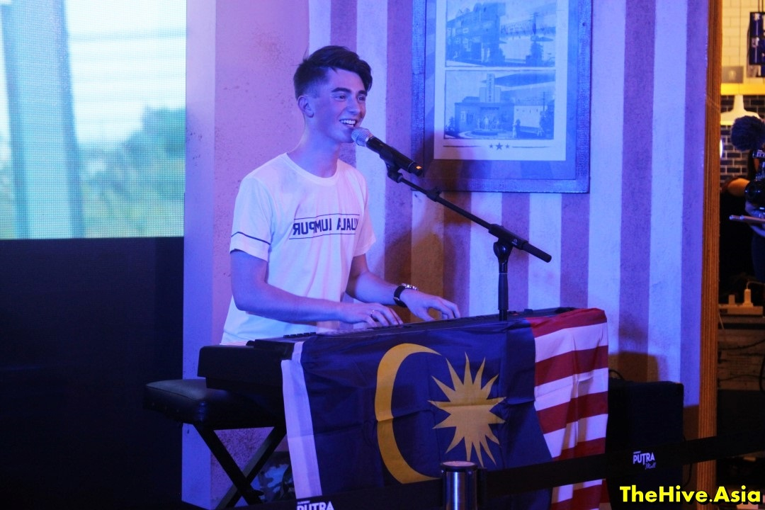 Greyson Chance's passionate comeback performance in Malaysia
