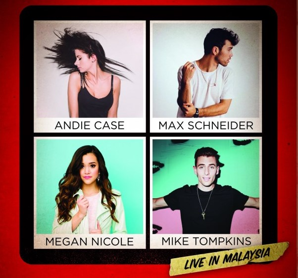 Sensational YouTubers to hold a one-night only concert in Malaysia