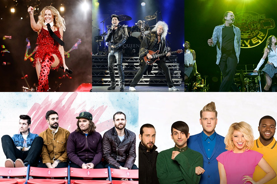 Queen, Kylie and more to headline Singapore Grand Prix