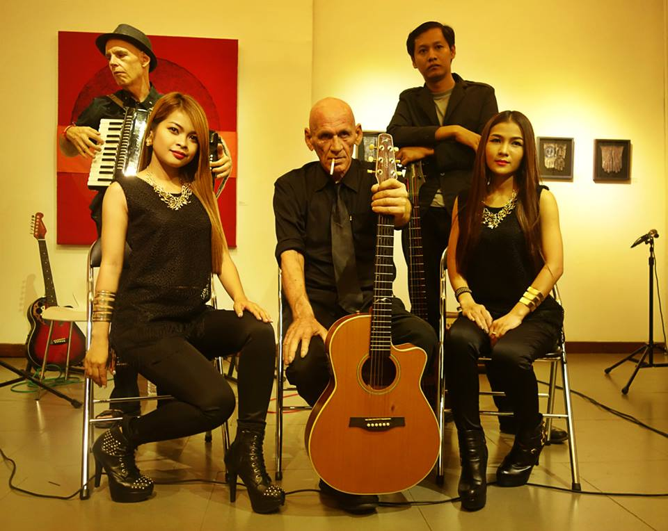 Cambodian blues band Krom gets Grammy nomination!