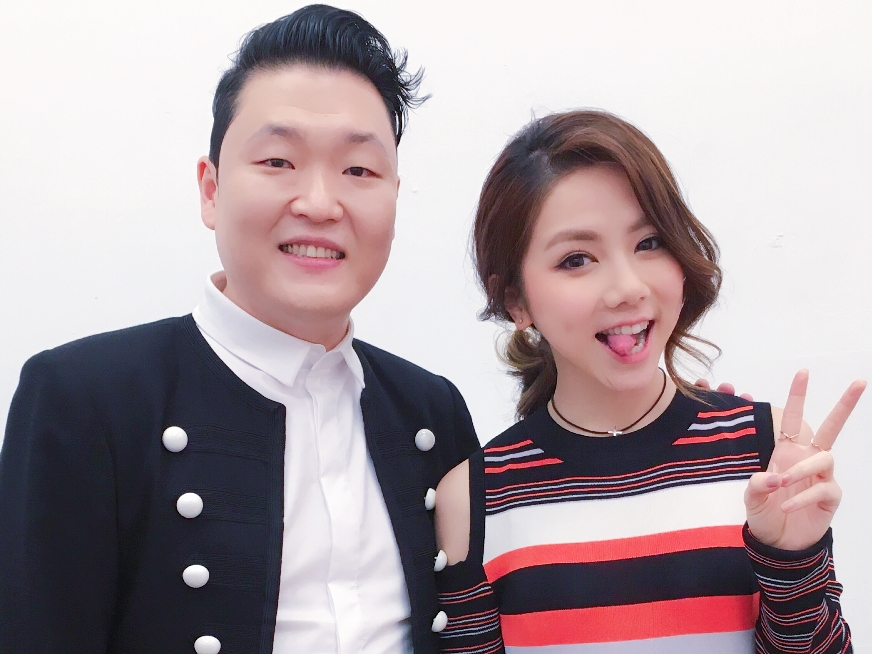 GEM Tang denies conflict with PSY