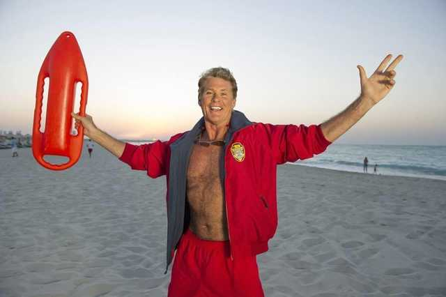 The Hoff is the Captain for It's The Ship 2016