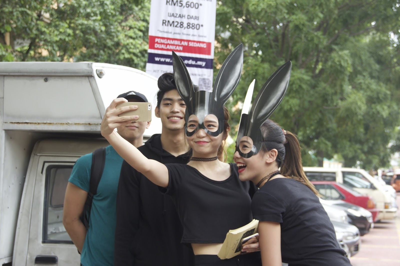 Mysterious girls dressed as bunnies spotted in Klang Valley